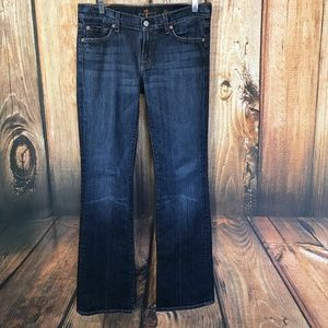 7 for all Mankind Jeans Size 29 Flare Medium Wash